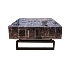 HUDSON COFFEE TABLE IN MICA DescriptionC4-15 Hudsoncoffee table with mica…