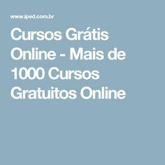 Cursos Grátis Online - Mais de 1000 Cursos Gratuitos Online