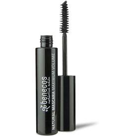 Mascara maxi volume noir intense deep black 8ml Benecos - 7,80€ Label BDIH