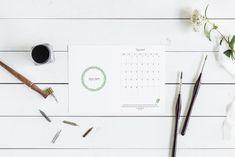 Kalendarz z miejscem na notatki Brain Dump, Hair Accessories, Organization, Dom, Getting Organized, Organisation, Hair Accessory, Tejidos