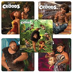 Croods Party Supplies, Croods Birthday Party