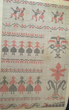 Cross Stitch Borders, Embroidery Art, Crochet Doilies, Hand Stitching, Bohemian Rug, Projects To Try, Bows, Tattoo, Patterns