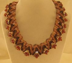 Peyote Handcrafted Beaded Necklace