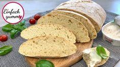 Ciabatta ohne falten - Rezept von Einfach Yummy Ciabatta, Blitz, The Creator, Bread, Youtube, Food, Party, Kitchens, Baguette Recipe