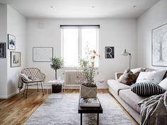 Design Hub - блог о дизайне интерьера и архитектуре: Квартира под крышей в Стокгольме