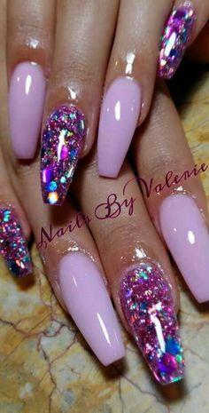 Mini-Omelett-Muffins - New Ideas - New Ideas Super Nails Purple Pink Sparkle Ideas Glam Nails, Hot Nails, Fancy Nails, Beauty Nails, Hair And Nails, Fabulous Nails, Gorgeous Nails, Pretty Nails, Gradient Nails