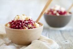 Buckwheat, Beet and Apple Porridge | Institute for Integrative Nutrition #vegan #integrativenutrition #IIN