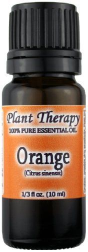 Orange Essential Oil. 10 ml. 100% Pure, Undiluted, Therapeutic Grade. by Plant Therapy Essential Oils. $5.48. Botanical Name:Citrus sinensis * Plant Part:Fruit Peel * Extraction Method:Cold Pressed * Origin:Canada * Description:Sweet Orange is derived from an evergreen tree. It is smaller than the bitter orange tree, and less hardy with fewer or no spines. The fruit itself has a sweet pulp with no bitter membrane. * Color:Yellowish orange to dark ora...