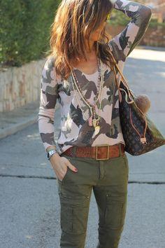 8 mejores imágenes de pantalones cargo mujer  2a057465d52c