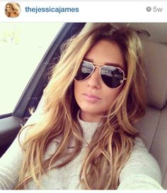 Jessie James Decker Style- Balyage honey hair