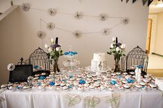 birdcages and cupcakes
