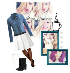 """Dove Cameron 💜"" by krgood7 ❤ liked on Polyvore featuring GET LOST, tabbisocks, Boutique Moschino, MICHAEL Michael Kors, M&Co, Jessica de Lotz Jewellery, disney, dove, liv and mal"