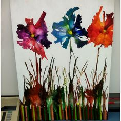 Melted Crayon Art, this is ALL Melted Crayon photo MeltedCrayonArtAllCrayon.jpg