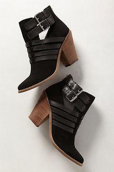 { black booties - must have }