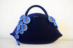Felt Handbag - Felt art ::taneno.:: - Gallery