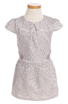 Main Image - Ruby & Bloom Floral Jacquard Dress (Toddler Girls, Little Girls & Big Girls)