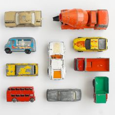 collection (matchbox cars) would be lovely on a wall