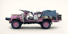 Pretty in pink SAS Defender