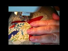 Freestyle Machine Embroidery Tutorial and Project Part Two