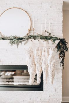 102 cozy farmhouse christmas home tour at night 155