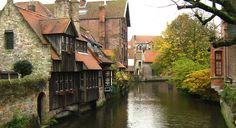 Medieval houses on the canal, from Bonifacius Bridge | San Diego Reader