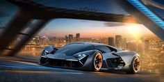 Lamborghini and MIT Are Building an Electric Dream Car