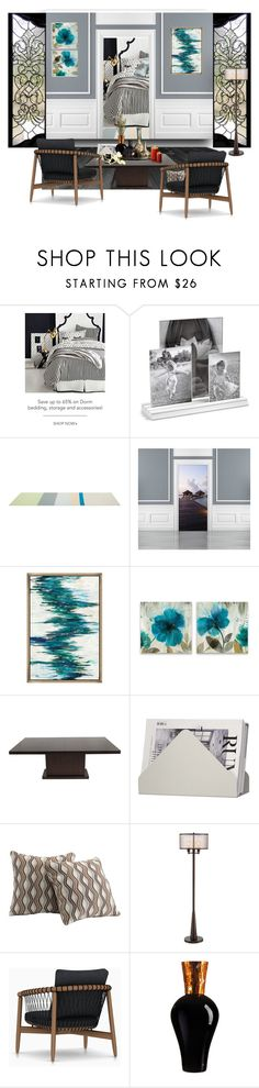 Opulence by nusongbird on Polyvore featuring interior, interiors, interior design, home, home decor, interior decorating, Franklin Iron Works, 1Wall, Skagerak and Martha Stewart