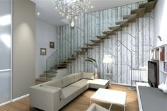 Rendering inteior design italian style