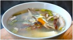 A detox soup takes many of the healthiest ingredients possible and puts them together in one pot. T