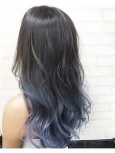 unique and desirable pastel hair ideas # pastel hairstyle hairstyle . - Pastel-colored ombre hair is a hairstyle that is fun and is very trendy this summer. Pretty Hair Color, Hair Color Purple, Hair Dye Colors, Hair Color For Black Hair, Pastel Ombre Hair, Ash Blue Hair, Korean Hair Color, Hair Color Streaks, Aesthetic Hair