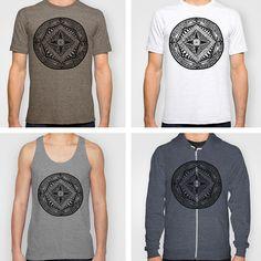 Mandala tshirt design.