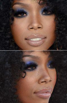 Brandy Norwood in Flawless Makeup!  BRocka just needed some Visine!