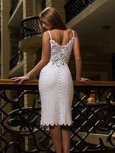 Outstanding Crochet: Wedding Crochet Dresses.