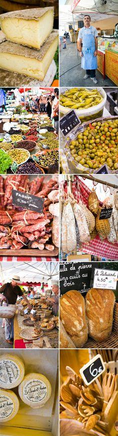 Marchés en France - http://www.rendezvousenfrance.com/ #marches #france #gastronomie