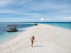 white sand beach of Camiguin Island, Philippines Philippines Tourism, Philippines Beaches, Sand Island, Mindanao, Beach Camping, Palawan, White Sand Beach, Day Tours, Beautiful Beaches