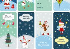 Des étiquettes à imprimer Adorables et super pratiques, ces petites étiquettes de Noël à accrocher sur vos paquets cadeaux. Téléchargez-les et imprimez-les sur du papier cartonné ou autocollant, c'est encore mieux. C'est sûr, la personne qui recevra le présent sera très touchée.
