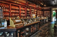 Pharmacy Museum - New Orleans in the French Quarter of New Orleans, Louisiana