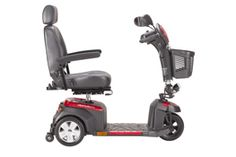 "Ventura DLX Three-Wheel Power Mobility Scooter - available with 18"" or 20"" Captain's Seat. #scooter #mobility #disability #geriatric #elder #bariatric #ventura https://www.facebook.com/VidaCura 