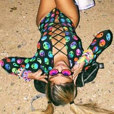 Alien Lace Up One Piece Festival Looks, Rave Festival, Festival Wear, Festival Fashion, Festival Style, Music Festival Outfits, Music Festivals, Festival Costumes, Festival Clothing