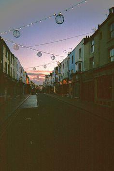 Brighton - The North Lanes at dawn