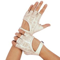 Fingerless Gloves Leather Gloves Leather by eleven44jewelry