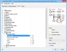 Parametric objects in nanoCAD SPDS