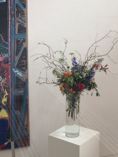 Flowers by The Informal Florist for The RHA Gallery, Dublin