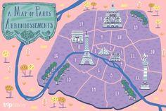 Where to Stay in Paris, France: A Hotel & Arrondissement Guide France Map, Tours France, Paris France, Shangri La Paris, Paris Neighborhoods, Paris Travel Tips, Paris Map, Paris Images, Tour Eiffel