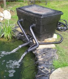 10 DIY Pond Filter For Easy Cleaning Of Backyard Pond Water . #Ponds