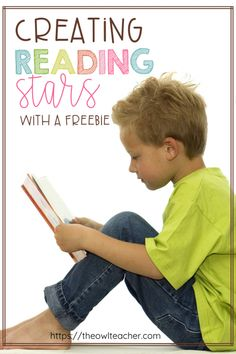 Turn your students into Reading Stars with this activity that engages students. Students will want to practice reading fluency and start new books. Upper Elementary Resources, Free Teaching Resources, Teaching Strategies, Teaching Tips, Reading Fluency, Teaching Reading, Common Core Reading Standards, Writing Anchor Charts, Teacher Lesson Plans