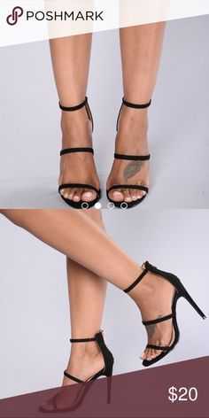 3b176a64248 Black heels Black heels (never worn) Fashion Nova Shoes Heels