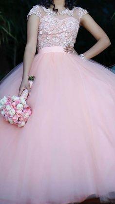 Imagenes de vestidos de 15 anos estilo princesa (2)