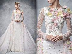 Espectacular vestido de novia!! Georges Hobeika Bridal 2016. #moda #estilo #tendencias #vestido #novia #fashion #style #trendy #weddingdress #bridal #georgeshobeika #hautecouture #luxury