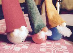 gnomes - troll- homemade-  La fabrica quoi ? dec.2014 www.la-fabrica-quoi.com